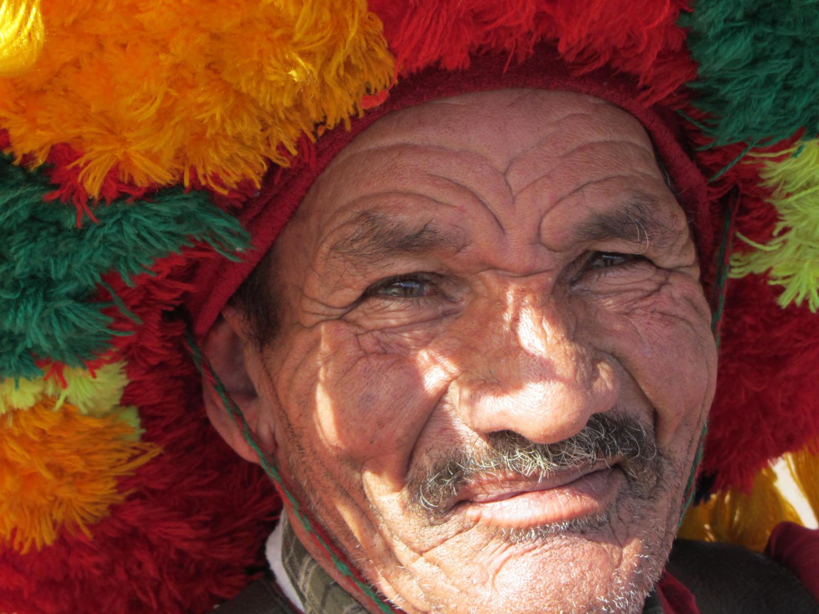 oude man marokko