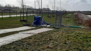 Lees meer over het artikel Waterpomp ingezet IJsbaan Burgum