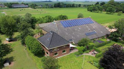 luchtfoto boerderij